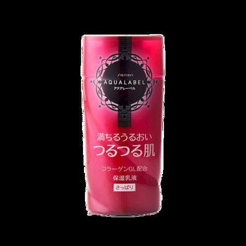 SHISEIDO Aqualabel, 保濕潤膚乳液清爽型130ml