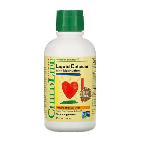 ChildLife - 童年時光鈣鎂鋅營養補充液 474ml