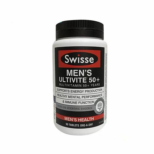 Swisse 50+ 男士維生素 90粒
