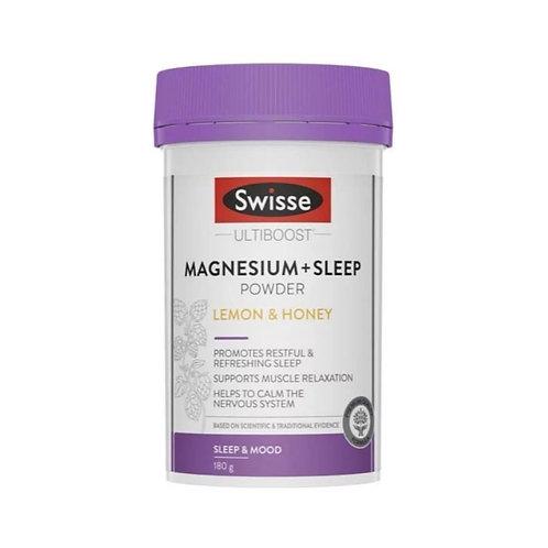 Swisse Ultiboost 天然草本複合鎂助眠營養粉180g