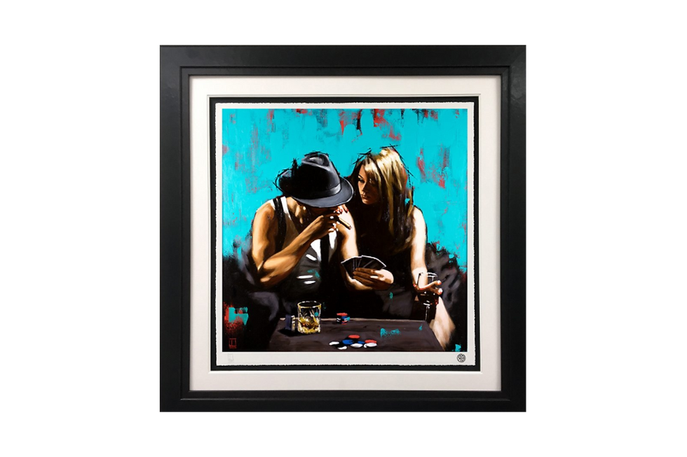 Richard Blunt | Royal Flush | Giclee Print on Museum Paper, Limited Edition of 45 with certificate of authenticity