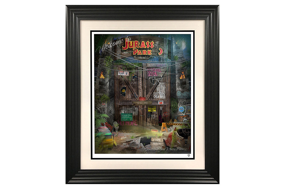 JJ Adams | Clever Girl | Giclee Print on Museum Paper, Limited Edition of 95 with certificate of authenticity