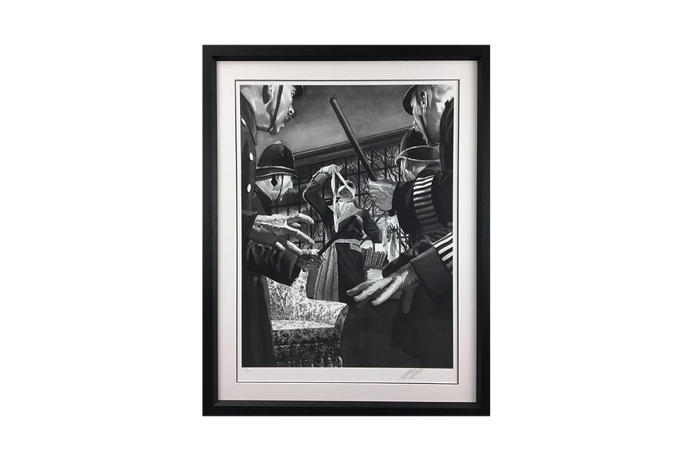 Alex Ross | THE INVISIBLE MAN | Giclee Print on Museum Paper, Limited Edition of 50 with certificate of authenticity