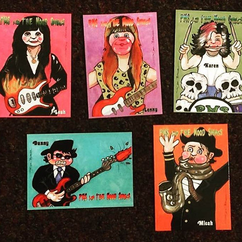 PMS and the Moodswings Trading Cards