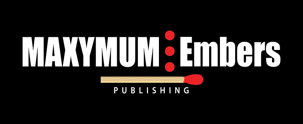 MAXYMUM Embers Publishing Logo - Dark Ba