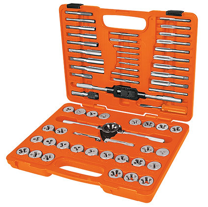 60-Pc Tap and  Die Set