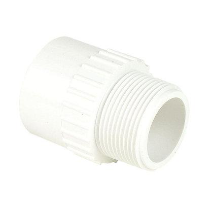 PVC ADAPTER MALE SCH40