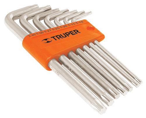 7-pc Torx Key Set, Plastic Holder