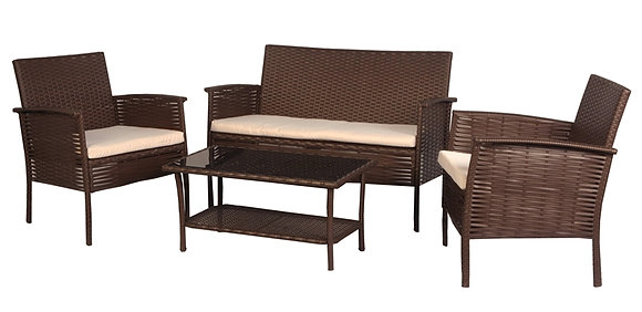 Aheville Chat Set Wicker