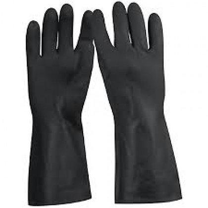 PR Neoprene Rubber Gloves, Long Cuff