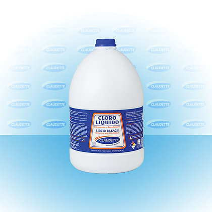 GALLON LIQUID CLOROX CLAUDETTE