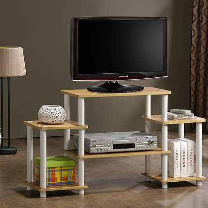 Furinno 11257BK/GY TV STAND