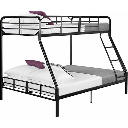 BUNK BED TWIN - FULL BLACK
