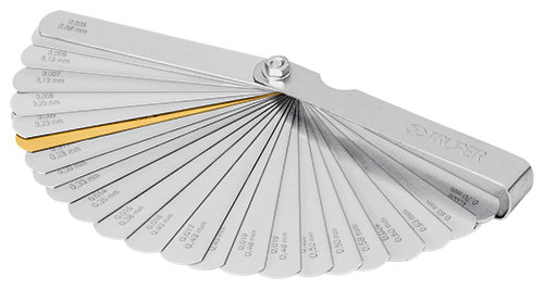 32-Blade Spark Plug  Feeler Gauge Set