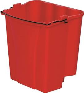 MOP BUCKET RED 18QT