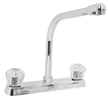 """8""""High Rise Spout Kitchen Faucet"""