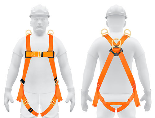 D-RING FULL BODY HARNESS