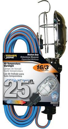 Work Lights, 12A/125V/1500W Rating