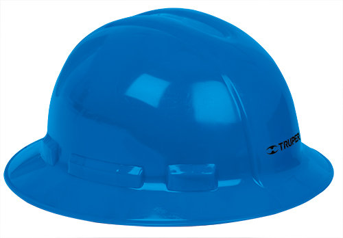 Full Brim Hard Hats, Ratchet Suspension