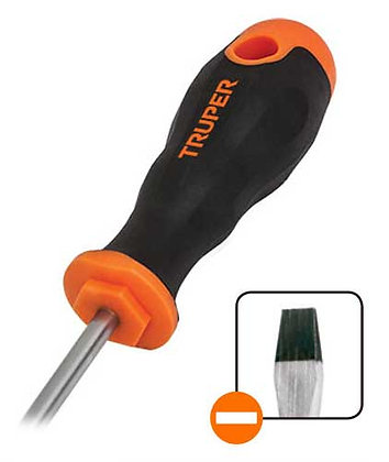 Slotted Screwdrivers, Comfort Grip
