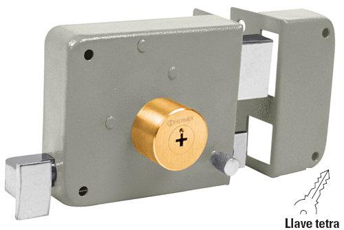 Left Rim lock - cross key