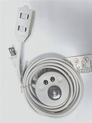 Extension Cord With Foot Switch, 9 ft L, 3 Outlet