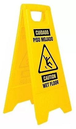 Wet Floor Caution Sign