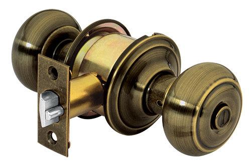 Oval Door Knob, Cylindrical Mechanism