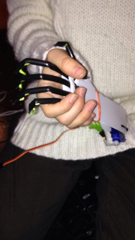 Mini Robotic Hand