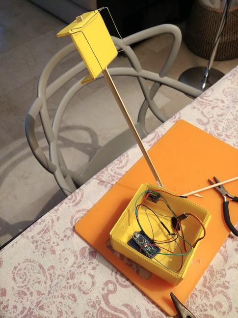 Robot Catapulte