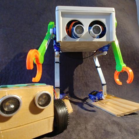 MiniBot et Chancleto