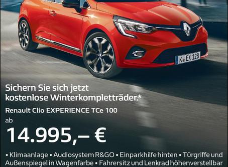 21. September Premiere Renault Clio