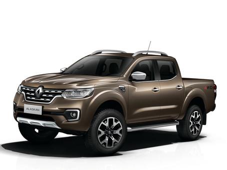 Marktstart mit Doppelkabine und Allradantrieb. Der neue Renault Alaskan: robuster Pick-up für Arbeit