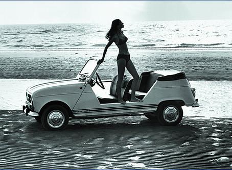 Vom Spassmobil zum gesuchten Sammlerstück 50 Jahre Renault 4 Plein Air: Luftschloss für Blumenkinder