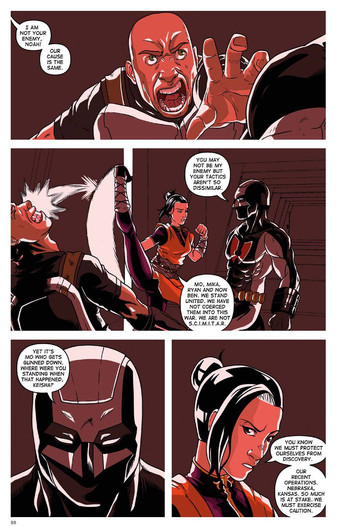 The Secret Protectors Volume 01 Page 88