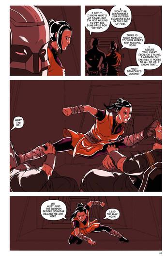 The Secret Protectors Volume 01 Page  89
