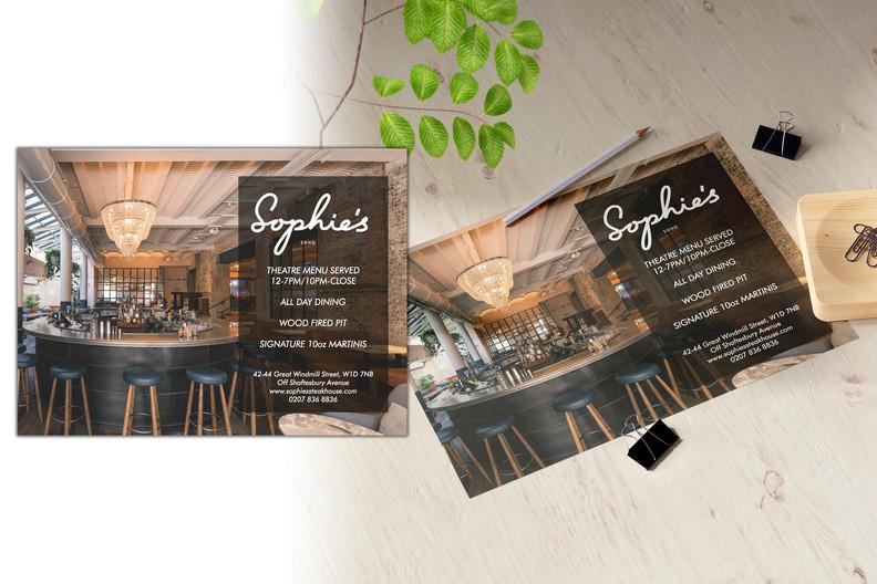 Sophie's Chelsea is Back Leaflet