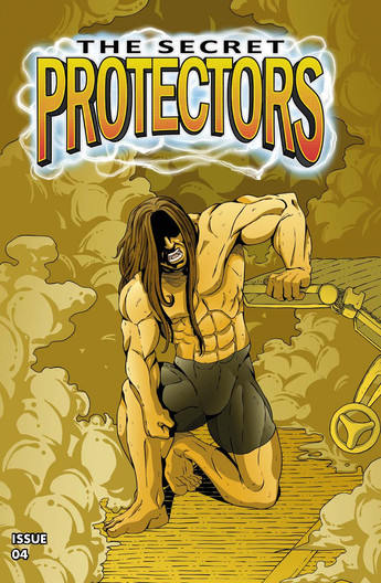 The Secret Protectors Issue 04 Cover