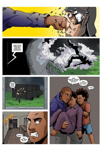The Secret Protectors Volume 01 Page 23