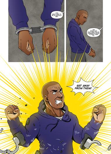 The Secret Protectors Volume 01 Page 22