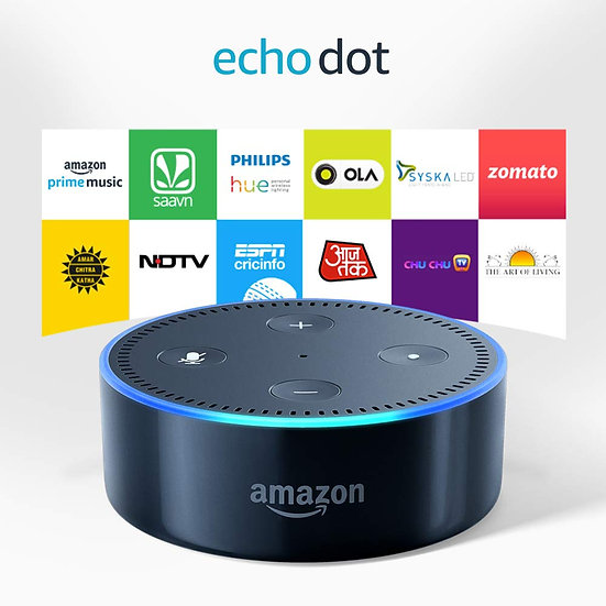 Echo Dot (2nd Generation) - Smart Speaker With Alexa