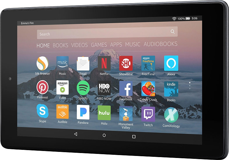 """Fire 7 Tablet with Alexa, 7"""" Display, 8 GB"""