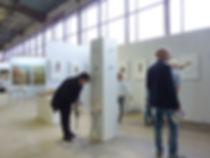 Exhibition on the Huntenkunst artfair in Ulft, of Meta Joanknecht assemblages.