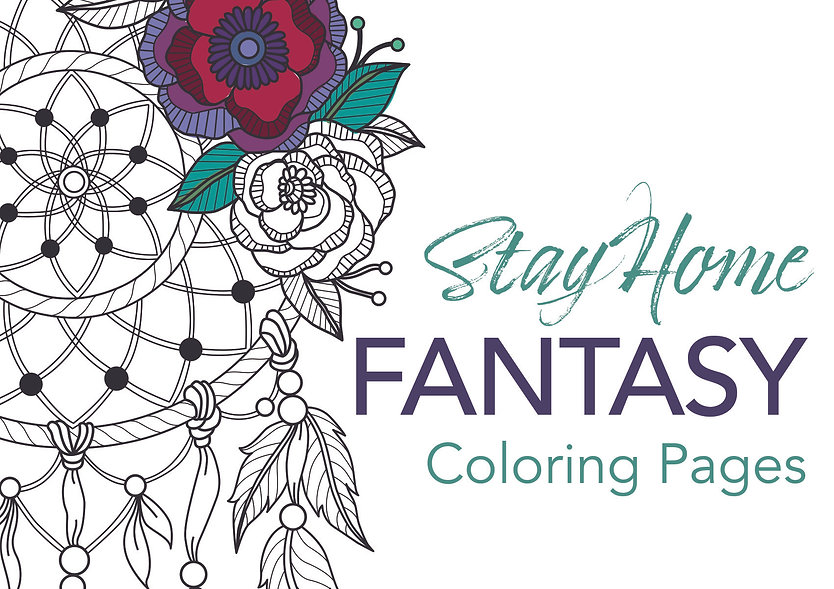 FB - Coloring Pages - Fantasy Cover.jpg
