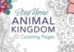 FB - Coloring Pages - Animal Kingdom Cov
