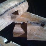 mortice & tenon joint for bench leg fram