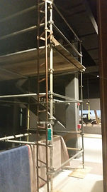 Scaffold and Insulation