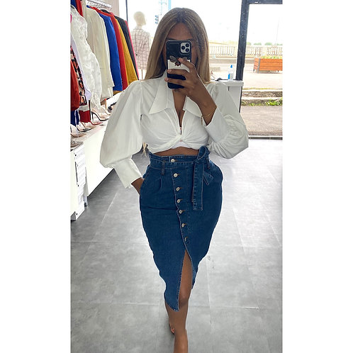 JUPE JEANS