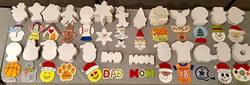 Ornament Variety with Color Samples 1