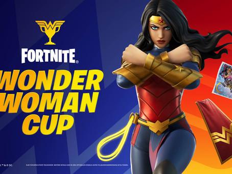 Von der Paradiesinsel auf die Fortnite-Insel – Wonder Woman landet in Fortnite